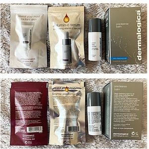 NEW DERMALOGICA 4 TRAVEL SZ PEEL SERUM COCOON BALM